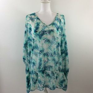 Lane Bryant Sheer Top Cover Up Size 18/20 NWT